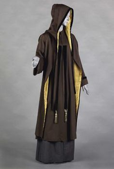 One of the first designs Poiret did for Doucet was a wonderful 1907 brown coat with removable hood.