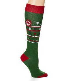 Achy Legs, Boot Cuffs, Leg Warmers, Christmas Clothing, Garter Belts, Socks, Hosiery, Green, Pattern