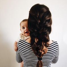 you can have cute kids and good hair