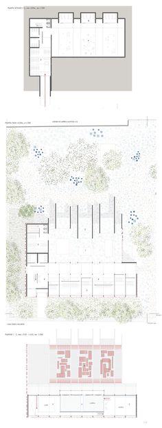 Arturo Soria Hall of Fame - plantas Diagram, Floor Plans, Architecture, Floor Plan Drawing, House Floor Plans