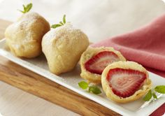 Driscoll's Deep Fried Strawberries. So unbelievably yummy and easy! www.driscolls.com