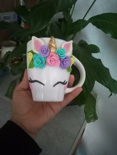 Polymer Clay Charms, Polymer Clay Creations, Clay Mugs, Unicorn Nails, Pasta Flexible, Arte Floral, Diy Clay, Paper Clay, Sugar Rush