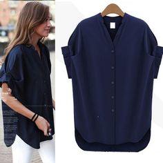 2014 New fashion women blouse blusas femininas plus size casual chiffon shirt  women clothes tops 5xl 4xl xxxl xxl xl 605