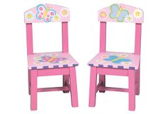 Cherie Painted Chairs on OneKingsLane.com