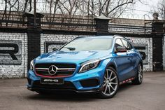 Mercedes GLA45 AMG in Hexis Bodyfence Protection Wrap