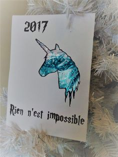 Hello tout le monde! Harry Potter, Cursed Child Book, Greeting Card, Unicorn, Objects, World, Cards, Noel, Dibujo