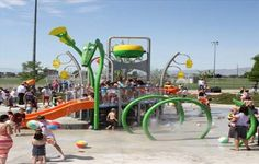 60 splash pads in Utah (most are free!)