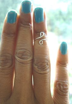Sterling Silver Above The Knuckle Wire Ring