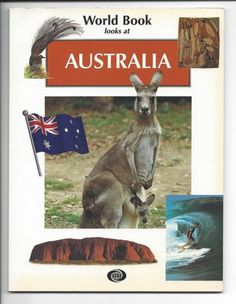 WORLD-BOOK-LOOKS-AT-AUSTRALIA-pb-EDUCATIONAL-Australian-animals-plants-more