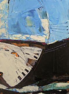"""""""Behind His Wing"""" oil painting, by nancy Bossert"""