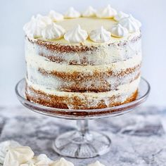 Gingerbread Cake with Cinnamon Cream Cheese Frosting // Super Golden Bakes. Find this recipe and more holiday inspiration on our Holiday Cakes Feed at https://feedfeed.info/christmas-cakes?img=190099 #feedfeed