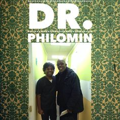 Dr. Philomin and his patient smiling for the Camera!!!! Smile; it is contagious!!!!