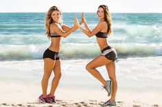 "Karena and Katrina will be sharing their HIIT workout for fall that will get you in awesome shape before you can even say ""Thanksgiving"""