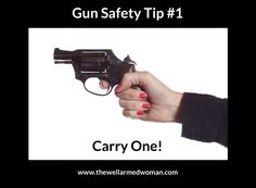 It needs to be with you to protect you. (of course you need to be trained to use it!)