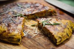Butternut Squash, Caramelized Onion, And Wild Mushroom Crustless Quiche-I will use evaporated milk instead of cream