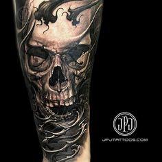 Tattoos - Skull - 106154