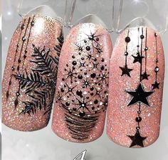 Köröm Nageldesign The Iconic, Hairdresser Friendly: 2006 Honda Civic Coupe Transforming an icon is n Cute Christmas Nails, Xmas Nails, Holiday Nails, Winter Christmas, Christmas Crafts, Christmas Decorations, Cute Nails, Pretty Nails, Gel Nails