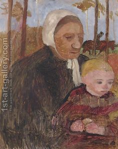 paula modersohn-becker mother and child - Google Search
