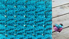 Crochet Point flèches fantaisie très facile / Arrow stitch crochet (engl...