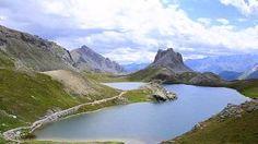 Colle et lac di Roburent Alpes de Haute Provence