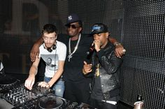 """P Diddy , Big Sean & Dj Magnum Wearing Désir Luxe Vertu (Sean Parker T-Shirt) From """"A Billionaire Thing"""" Collection"""