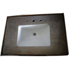 Newstar Yellow Marble Bathroom Vanity Top Countertops Kitchen Countertops  GraniteCountertops