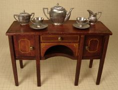 Tea Set by Gerlach Tynietoy Accessory #198-11 SOLD