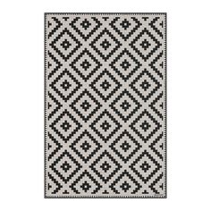 Buy BEAUMONT Squares Vinyl Floor Mat - Cream/Black - Small | AMARA Vinyl Floor Mat, Floor Mats, Black Vinyl Flooring, Geometric Tiles, Rug Size Guide, Pip Studio, Black Floor, Presents For Friends, Tile Design