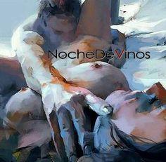 Es más que arte el poder recorrer tus senderos dejar pinceladas en tu piel que guarden para siempre las profundas sensaciones es arte cuando tú placer y el mío se hacen homogéneos es arte sentir tu cuerpo dibujar en tu piel el mapa del deseo y hacer eternos cada efímero momento... _______________________ #NocheDeVinos #poesia #poetry #Vino #vinos #wine #words #palabras #tentacion #temptation #tu #poem #poema #love #inlove  #enamorado #amor #redhair #red #seduccion #erotismo #sexo #sexy…