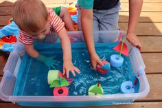 Sink or Float/ Make a Boat Science Activity and Read Where the Wild Things Are