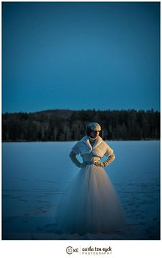 Winter Wedding photo shoot  photography- Carla Ten Eyck   styling- Beth Chapman | The White Dress by the shore
