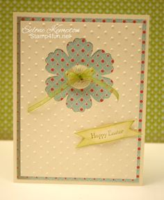 Happy Easter - Stampin' Up Card