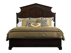 Stanley Furniture Charleston Regency Classic Mahogany Cathedral King Panel Bed