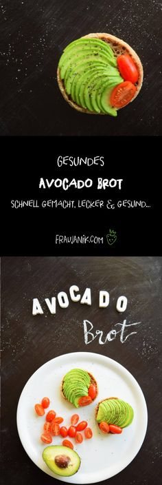 Gesundes Avocado Brot schnell gemacht, lecker & gesund…