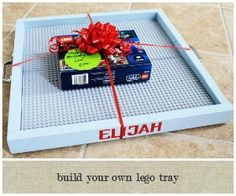 Somewhat Simple: Build a Quick and Clever Lego Tray
