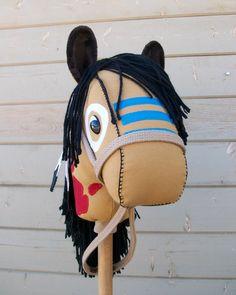 Stick Horse Native American Indian War Pony by RusticHorseShoe,