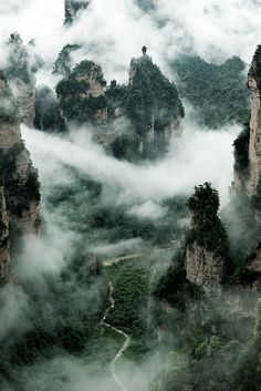 Zhangjiajie Hunan China