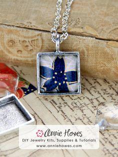 Great Last Minute Gift Idea! DIY Jewelry making kits, supplies and tutorials. www.anniehowes.com