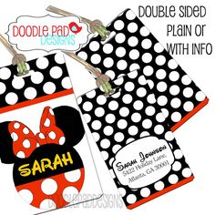 image about Disney Luggage Tags Printable named 49 Simplest Bags Tags photographs Disney holiday seasons, Disney