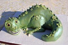 """""""cute"""" Dinosaur on Cake Central"""