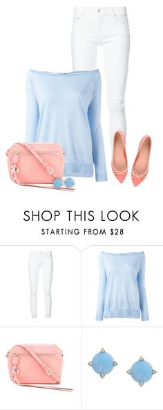 """#917 - Spring/Summer Pastels"" by lilmissmegan ❤ liked on Polyvore featuring Mother, P.A.R.O.S.H., Alexander McQueen, Vera Bradley and outfitonly"