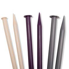 Agulha para Tricô Cisne - Comprimento: 35cm - Venda por tamanho - O Par - Fabricante: Coats Corrente.