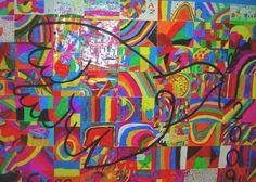 Dibujos abstractos fáciles - Imagui