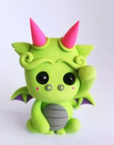 Sculpey III Dragon  This little guy is sure to brighten someone's day!  Design by Leah Lazy