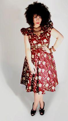 Buja Ankara Dress www.dearcurves.com