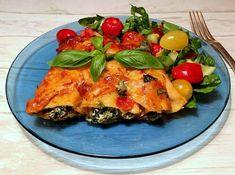 Cannelloni med tomat, spinat og ricotta