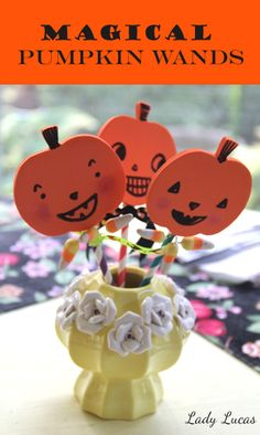 JCFamilies » Blog Archive » Magical Pumpkin Wands | Time to Create with Lady Lucas