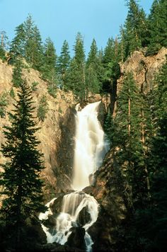 Fish Creek Falls, Steamboat Springs CO   © Marsha K. Russell