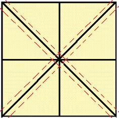 Katie's Quilts and Crafts: Half-Square Triangle Shortcut makes 8 HSTs at once Half Square Triangle Quilts Pattern, Quilt Square Patterns, Half Square Triangles, Square Quilt, Quilting Tips, Quilting Tutorials, Machine Quilting, Quilting Designs, Quilt Blocks Easy