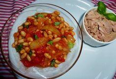 Pikáns paradicsomos olasz fehérbab Chana Masala, Vegan, Ethnic Recipes, Food, Diet, Essen, Meals, Vegans, Yemek